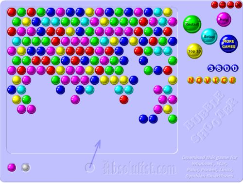 will spielen bubble shooter